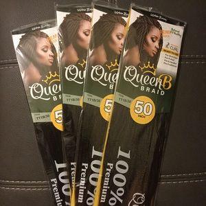 Queen B Braiding Hair (12 Pack) 💎💎💎